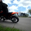Motorcycle race — Stock Video