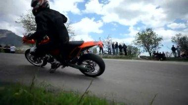 Motorcycle race — Stock Video