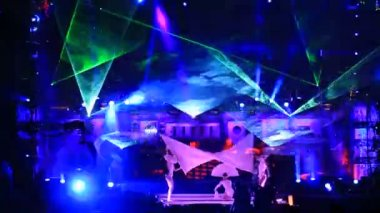 Performance at the Kazantip 2012 — Stock Video