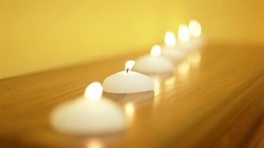 Group of candles — Stock video