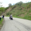 Moto ride — Stockvideo