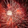 Spectacular fireworks igniting the sky. — Stock Video