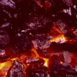 High Temperature Coal - Stock Photo