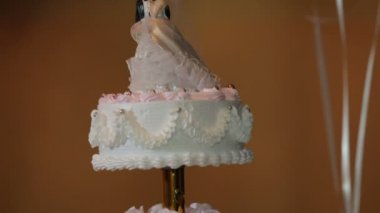 Wedding Cake. HD — Stock Video