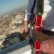 Hands Of Men Play Guitar — Stock Video #21868989