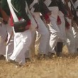 Stock Video: Battle Reenactment