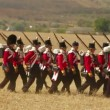Kilties On The Battlefield — Stock Video