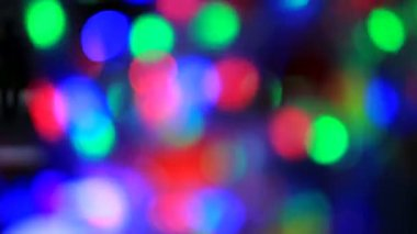Colorful party lights. Party lights. Loopable. — Stock Video