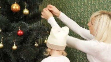 Kerst voorbereidingen. — Stockvideo