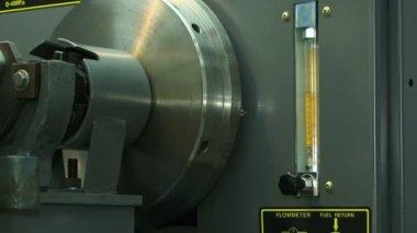 Diesel engine. Close-up. Diesel engine. — Stock Video