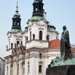 Prague, old town square, — Stock Photo