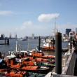 Hamburg harbor — Stock Photo