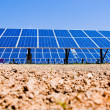 Stock Photo: Alternative solar energy. solar energy power plant.