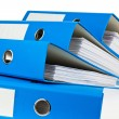 Stock fotografie: File folder with documents and documents