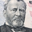 Stock Photo: U.s. dollar bills. detail. grant