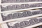 U.s. dollar bills. detail — Stock Photo