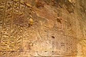 埃及、 艾得夫、 何露斯神庙 — 图库照片