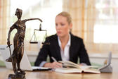 Lawyer in the office — Stock Photo