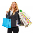 Woman shopping — Stock Photo #13142585