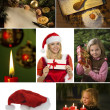 Collage for christmas — Stockfoto