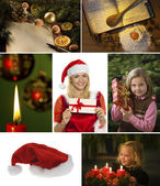 Collage for christmas — Stock Photo