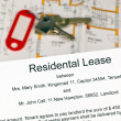 Stock Photo: Lease in english