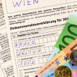 Austrian income tax return — Stock Photo #13554975