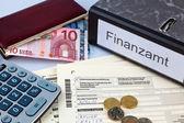 German income tax return — Stock Photo