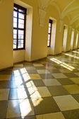 Light entering through windows — Stock Photo