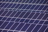 Cellules solaires pour l'énergie solaire — Photo
