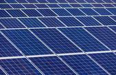 Ogniwa słoneczne, energia słoneczna — Zdjęcie stockowe