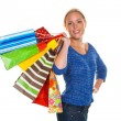 Woman with shopping bags — Stock Photo #14049533