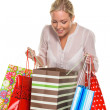 Woman with shopping bags — Stock Photo #14049537