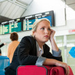 Delayed departure - Stock Photo