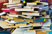 Stacks of books — Stock Photo