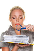 Tax office and tax audit — Stock Photo