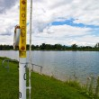 Pichlingersee (lake) in upper austria — Foto Stock