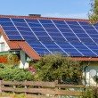 Stockfoto: Solar cells for solar energy