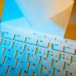 Royalty-Free Stock Photo: Computer keyboard and envelope. e-mail.