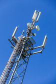 German mobile phone masts — Stock Photo