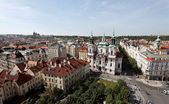 Prague, old town square, city view — Stock Photo