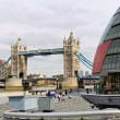 England, london, tower bridge - Stock Photo