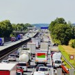 Stock Photo: Traffic jam on highway