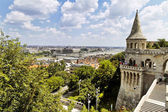 Hungary, budapest, fisherman's bastion. — Stock Photo