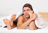 Couple has problems and crisis. divorce and separations — Stock Photo