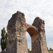 Heidentor the ancient roman settlement of carnuntum — Stock Photo #18265125