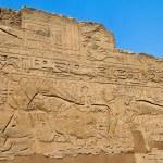 Egypt, luxor, temple of luxor amun. — Stock Photo