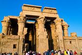 Egypt, kom ombo, temple — Stock Photo