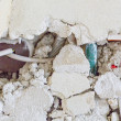 Broken masonry - Stockfoto