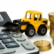 Cost accounting in construction industry — Stock Photo #19672337